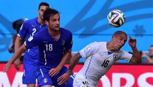İtalya Uruguay Maçının Fotoğrafları