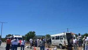 Denizli Acıpayam'da Kaza: 1 Ölü, 19 Yaralı