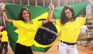 Brezilyalı Mankenlerden Ülkelerine Tam Destek