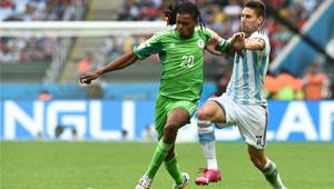 Arjantin Nijerya Maçının Fotoğrafları