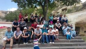 Yığılca'da Görev Yapan Yönetici ve Öğretmenler Nevşehir'i Gezdi