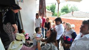 Foça'nın Başkanı, Kınık'ta Soma Acısını Paylaştı
