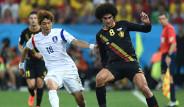 Belçika Güney Kore Maçının Fotoğrafları