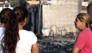 Adrasan'daki Yangından Geriye Kalan Manzaralar