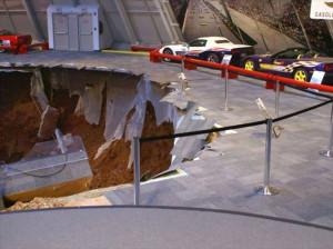 Corvette Müzesi Çöktü, Ortaya İlginç Görütüler Çıktı.