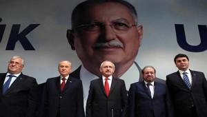 5 Siyasi Partinin İhsanoğlu'nun Cumhurbaşkanlığı Adaylığı'na İlişkin İmzaladığı Belge, Ysk'ya...
