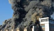 Tekirdağ'da Kimyasal Üretim Fabrikasında Yangın Çıktı