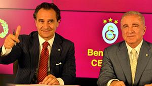 Prandelli Galatasaray'a İmzayı Attı Türkçe Mesaj Verdi