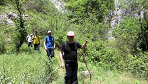 Rektör'den Kazankaya Kanyonu'nda Bilimsel Araştırma Önerisi