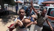 İsrail Gazze Saldırılarında Ölü Sayısı 72'ye Ulaştı