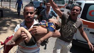 Gazze'de Ölü Sayısı 79'a Yükseldi