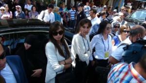 Başbakan'ı Koruyan Genç Kadın Polislerin Şıklığı