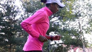 Elvan, Palandöken'de Maratona Hazırlanıyor