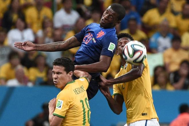 Brezilya Hollanda Maçının Fotoğrafları