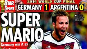Almanya'nın Şampiyonluğu Dünya Basınında