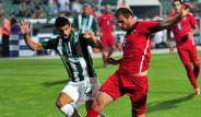 Bursaspor - Chikhura Sachkhere Maçının Fotoğrafları