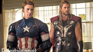 Avengers 2'den İlk Resmi Fotoğraflar Geldi