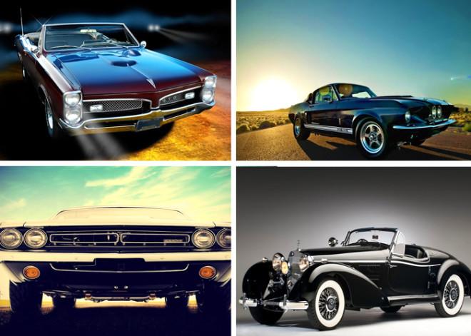 Birbirinden Harika 26 Klasik Araba
