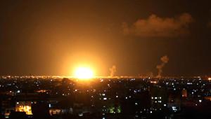 Gazze'ye Kara Harekatı Başladı