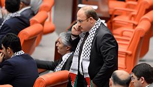 AK Parti'den Meclis'te Filistin Atkılı Protesto