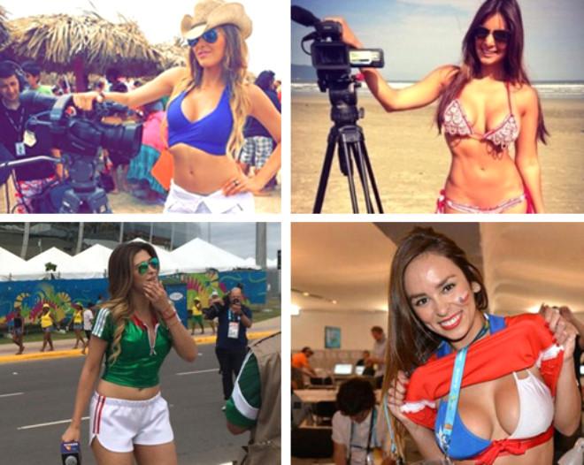 Dünya Kupası'nın Önüne Geçen Kadın Spikerler