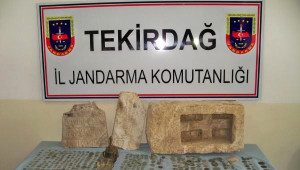 Malkara'da 900 Parça Tarihi Eser Ele Geçirildi