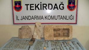 Malkara'da Tarihi Eser Operasyonu