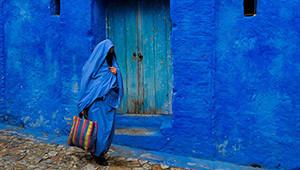 Fas'taki Mavi Kasabanın Sırrı