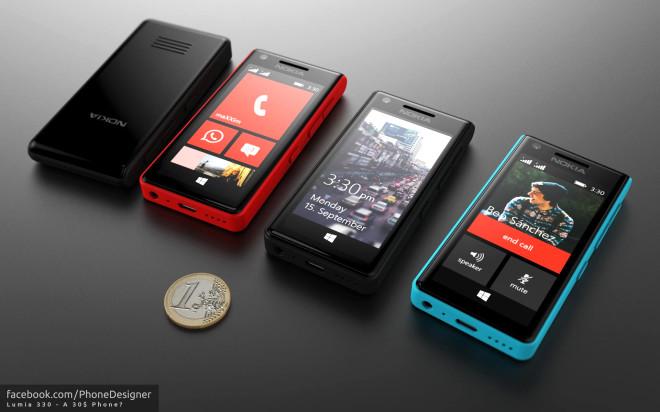 Windows Phone'lu Nokia X Telefon Nasıl Olurdu?
