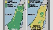İsrail'in Kanla Büyüyen Haritası