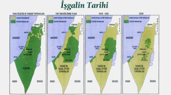 israil haritası ile ilgili görsel sonucu