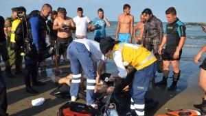 Yakakent Sahili Ölüler Sahiline Döndü