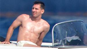 Messi, Sevgilisi Antonella Roccuzzo'yla Birlikte Tatilde