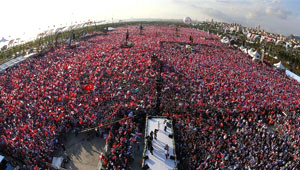Recep Tayyip Erdoğan'ın Maltepe Mitingi'nin Fotoğrafları