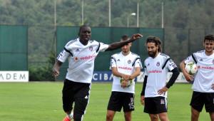Beşiktaş'ta Feyenoord Maçı Hazırlıkları Sürdürüyor