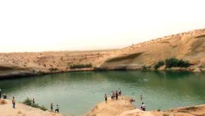 Çölün Ortasında Oluşan Göl Tunusluların Akınına Uğradı