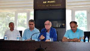 Sadık Yakut: Ağustos Ayı AK Parti'ye Uğurlu Geliyor