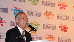 Cumhurbaşkanı Adayı Ekmeleddin İhsanoğlu Açıklaması