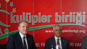 Göksel Gümüşdağ Kulüpler Birliği'nin Yeni Başkanı Oldu
