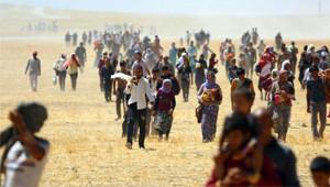 Sincar Dağı'nda Mahsur Kalan Yezidiler Böyle Kurtarıldı