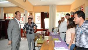 Başkan Hüseyin Sözlü, Oyunu Ailesiyle Birlikte Ceyhan'da Kullandı