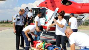 Yahyalı'da Trafik Kazası: 9 Yaralı