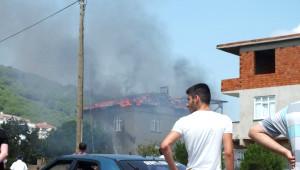 Körfez'de Ev Yangını Korkuttu