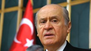 Bahçeli'yi Çamlıca Gişelerde Mehmet Aslan ve Partililer Karşıladı