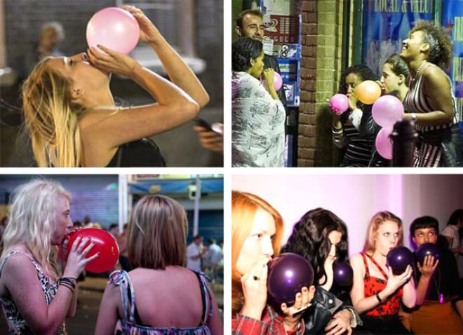 İngiltere'deki Kahkaha Balonları 17 Kişinin Canını Aldı