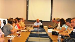 Süleymanpaşa ve Çorlu Kent Konseyleri Başkan Eşkinat ile Bir Araya Geldi