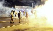 Ferguson'da Sokağa Çıkma Yasağına Uymayanlara Müdahale