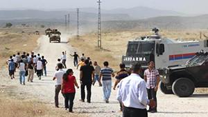 Lice'de Mahsum Korkmaz Heykeli Kaldırıldı, Olaylar Çıktı