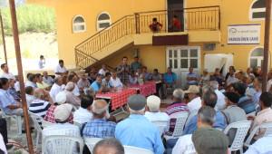 AK Parti Heyeti Serik'te