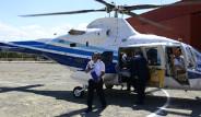 Ali Ağaoğlu Yürüyemeyen İki Kardeşe Helikopter Tahsis Etti